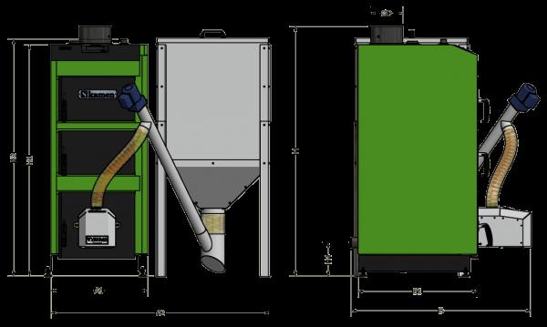 Kamen kompakt matmenys